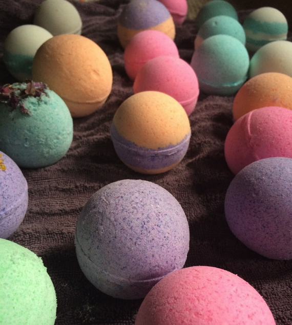 Bath bombs-Bailey Reynolds $3 Ea.