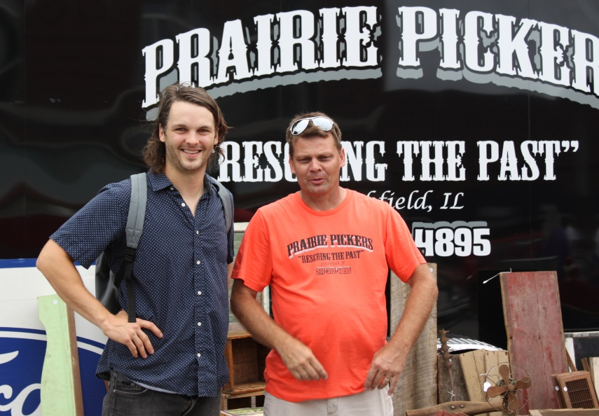 Founder Mark Brazel and I in front of his